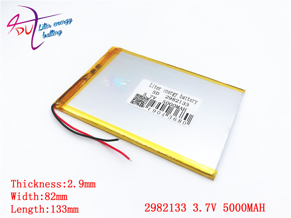 best battery brand 2982133 3.7V 3080130 3080135 5000MAH tablet battery brand tablet general polymer lithium batterybest battery brand 2982133 3.7V 3080130 3080135 5000MAH tablet battery brand tablet general polymer lithium battery