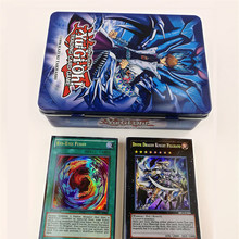 60pcs/set Yu Gi Oh Games Not repeating English Cards Game Collection Cards with metal box Toys For kids(China)