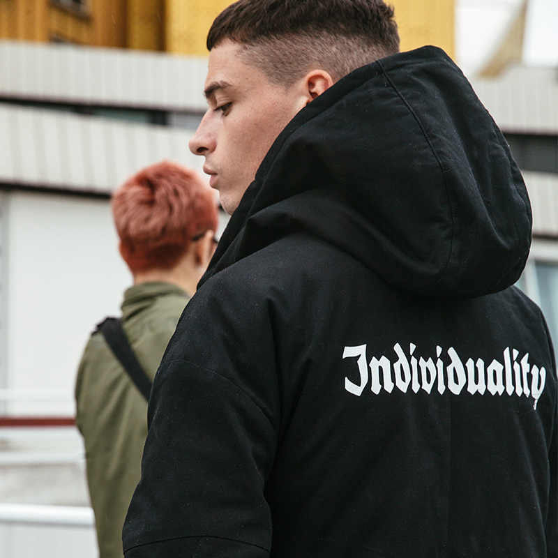 VIISHOW mannen Winter Jas Merk mannen Park Hooded Winter Mannelijke Jas 2018 Dikke Katoenen Gewatteerde Winterjas voor Mannen MC2088174