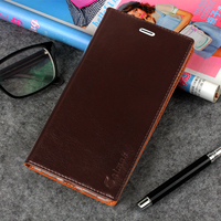 Luxury Top Quality Genuine Leather Stand Fashion Book Style Phone Bag Case For Xiaomi Redmi 4