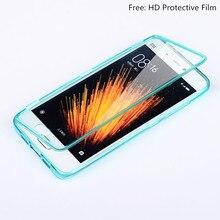 Xiaomi Ми 5 Случая Силикона Флип Полный Защитная Крышка ТПУ кремния Мешок Мобильного Телефона Случаи Сяо Mi5 Прозрачные Аксессуары Капа Coque