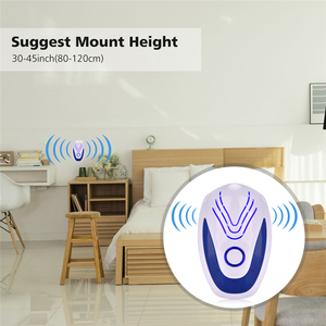 Image 4 - 4pcs Ultrasonic Mice Repeller Electronic Ultrasound Mouse Insect Reject Anti Mosquito Repellent Cockroach Bug Rat Rejection