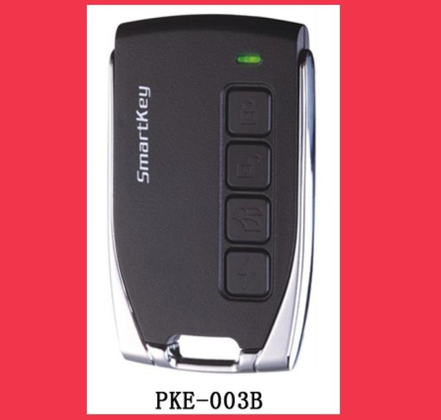 Eastern Promotion (Shipping Free)Passive Keyless Entry Car Aalarm+window closer +Engine push start button
