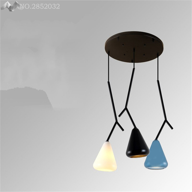 colored glass pendant lighting shades glass jwmodern color glass pendant lights tree twigs iron lamps for living room bedroom kitchen indoor