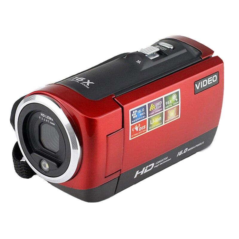 Haute qualité 2.7 pouces rotatif TFT-LCD écran vidéo caméra DV caméscope détection de visage DVR photographie usage domestique de voyage