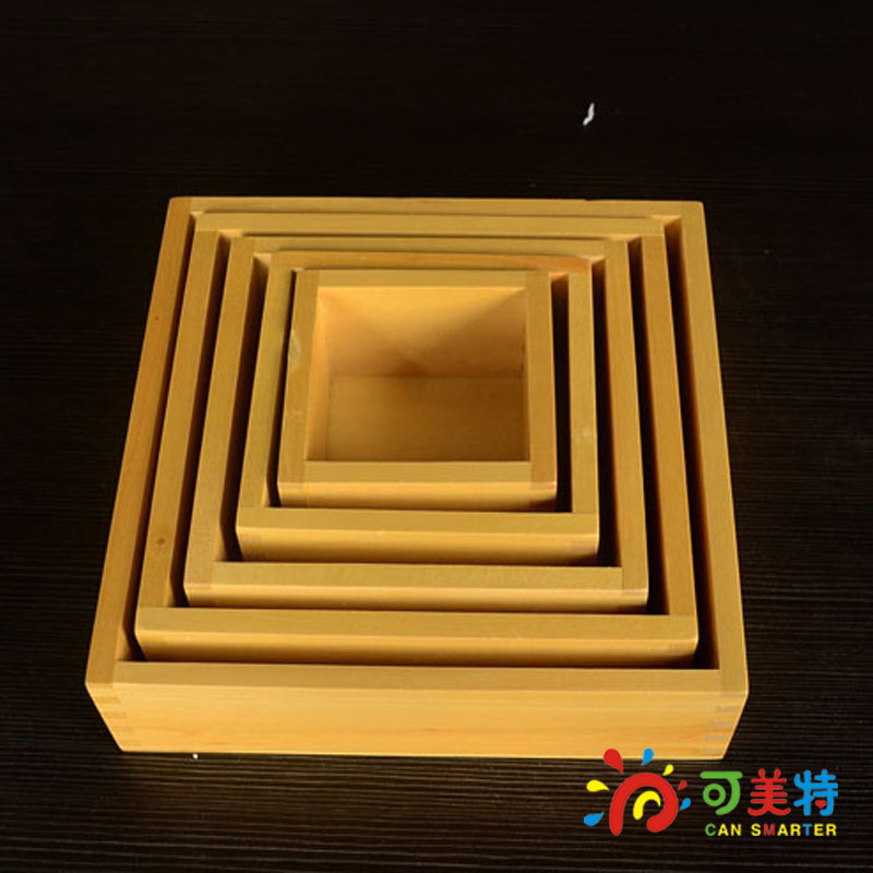 Montessori Materials Education Five Box in set Beech Wood  Sensory Toys Early educational toys Can Smarter t zulfikar akarim leadership perceptions in indonesian higher education