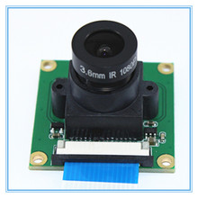 Ov5647 5mp 나이트 비전 라스베리 파이 3/2 모델 b 카메라 모듈 조정 가능한 초점 3.6mm 렌즈 32*32mm