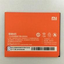Оригинальный литий-ионный Батарея BM45 для Xiaomi RedMi Note 2 Bateria Hongmi Red Rice Note2 3020 мАч Замена батарей