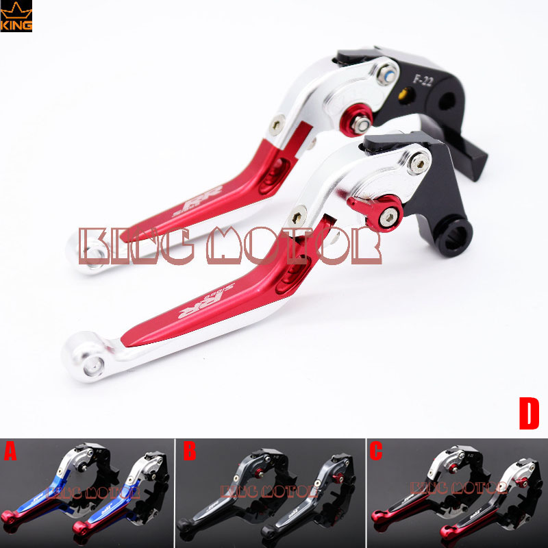 ФОТО Hot Sale Motorcycle Accessories For BMW S1000RR 2010-2014 Adjustable Folding Extendable Brake Clutch Levers Silver+Red+Sliver