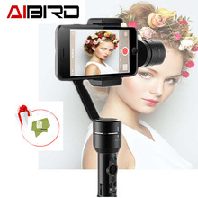 AIbird Uoplay 2 Universal 3-Axis Handheld smartphone Gimbal Stabilizer for iPhone Samsung HTC Android for GoPro 3 4
