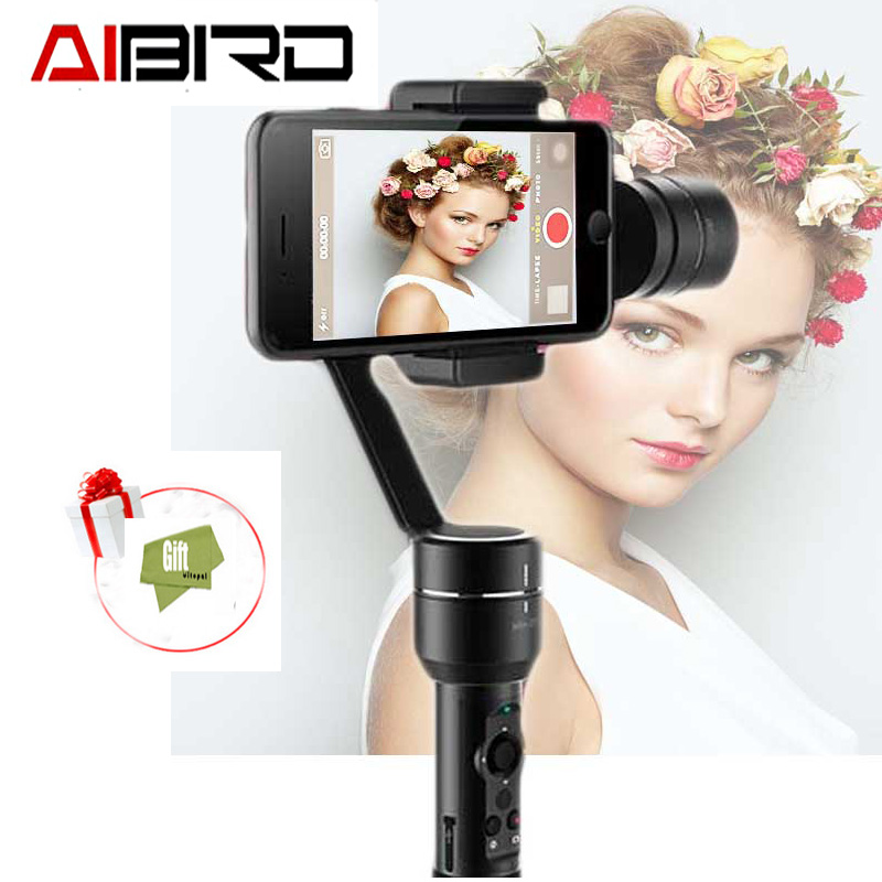 AIbird Uoplay 2 Universal 3-Axis Handheld smartphone Gimbal Stabilizer for iPhone Samsung HTC Android for GoPro 3 4 пылесос bosch bsn2100ru 2100вт черный