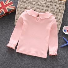Kids Girls T-shirts Long Sleeve Clothes