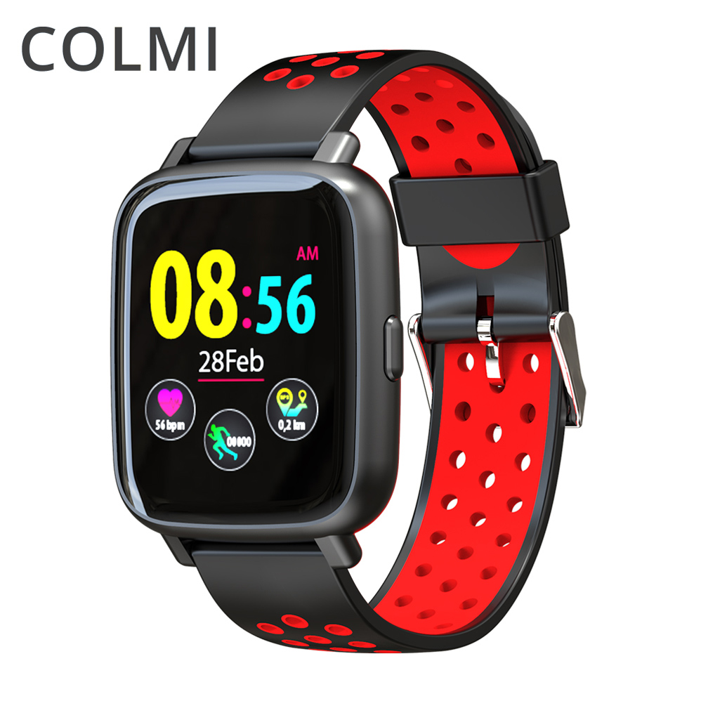 COLMI Smart Watch S11 Heart Rate Touch Screen Remote Control Bluetooth Silicone Strap Men for IOS Xiaomi Samsung Phone Android