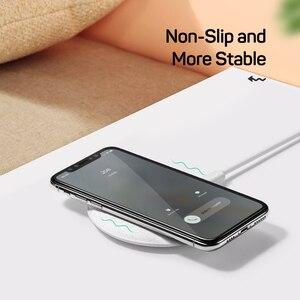 Image 5 - Ugreen Caricatore Senza Fili Per iPhone X XS 11 Pro Samsung S10 S9 Nota 9 8 Veloce caricatore senza fili Qi Wireless pad di ricarica per Xiaomi