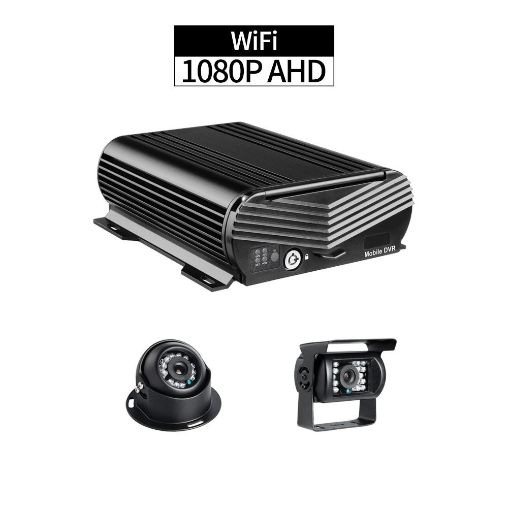 WiFi Forklift DVR Recorder,4CH 1080P Hard Disk Mobile DVR Remote Viewing by PC/Phone Realtime with AHD 2.0MP Front/Rear Cameras WiFi Forklift DVR Recorder,4CH 1080P Hard Disk Mobile DVR Remote Viewing by PC/Phone Realtime with AHD 2.0MP Front/Rear Cameras