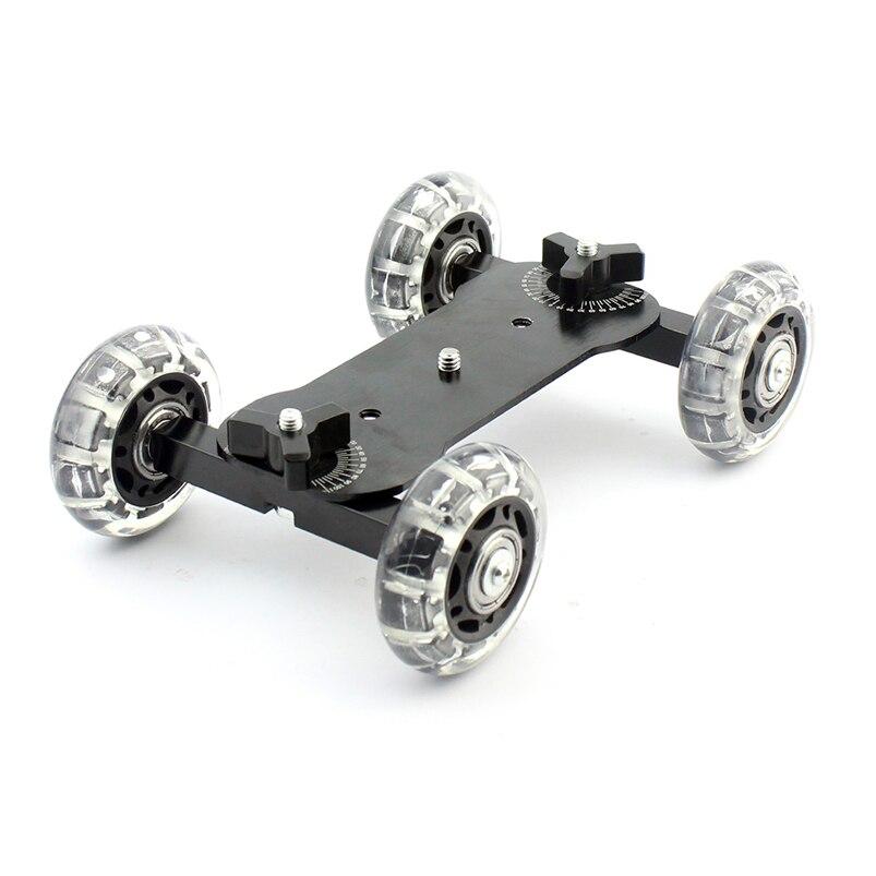F06249 мини камера для грузовика автомобиля DSLR видео Фотография шкив автомобиля немой Скейтер колеса комплект для 550D 7D 5D Mark II D90 K7 3 цвета