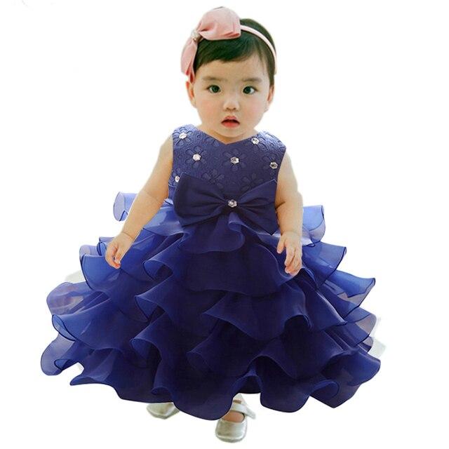 dfca5ffc1 Baby Girl 1 Year Birthday Dress For Newborn Infant Girls Dinner Dress  Formal Wear For 3 6 9 12 18 24 Months Baby Girls Vestidos