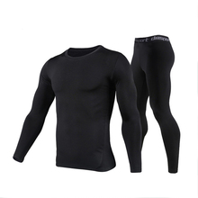Winter Thermal Underwear Sets Men Quick Dry Anti-microbial Stretch Men's Thermo Underwear Female Warm Long Johns Lucky John Mens
