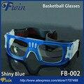 Безопасности Баскетбол Защитные Очки Открытый Спорт Очки Футбол Рецепту объектив Анти шок мяч помощи очки баскетбол