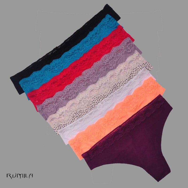 Buy XXXXL women g-string sexy lace underwear ladies panties lingerie bikini underwear pants thong intimatewear 1pcs/lot ah87