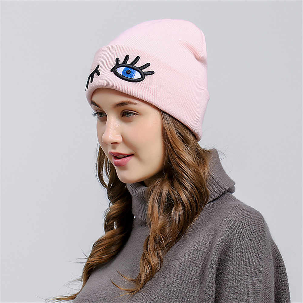 6b886cfebe920 Winter Hat For Women Girl  s Hat Knitted Beanies Cap Brand New Thick Female  Cap