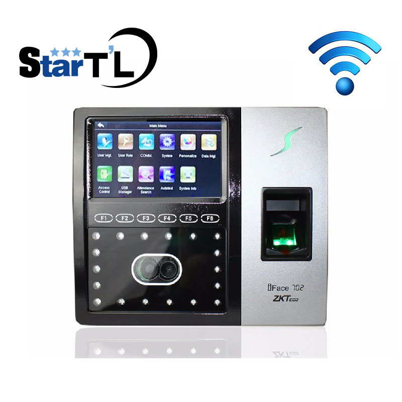 Zk Iface702 Wifi Time Attendance And Access Control System Biometric Fingerprint Time Recorder Employee Check Clock