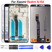 For Xiaomi Redmi 6 LCD Display Screen Replacement 5.45 inch top quality IPS Frame 6A Assembly 1440*720 Pixel