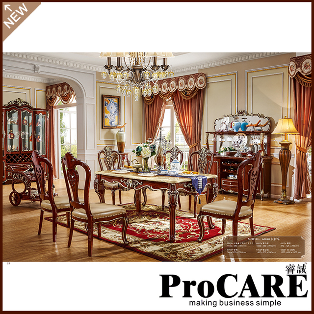 Furniture Group Buying Dining Table Antique Dining Room Set Home Furniture  Solid Wood Dining Table And