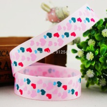153445,7/8» 22MM love Series Printed grosgrain ribbon, DIY handmade materials, headwear accessories, wedding gift wrap