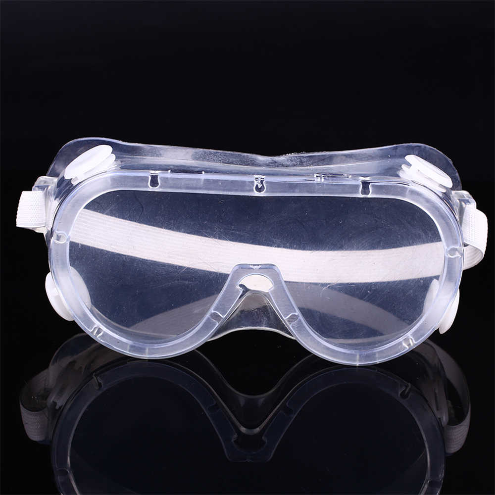 Safety Goggles Protective Safety Glasses Clear Windproof Eye Protector Resistant Transparent  Anti Dust Cover Medical Outdoor Ey