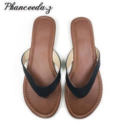 Новинка 2019 г. летний Стиль E обувь женские босоножки блестящие Хорошее качество змея Мода повседневное тапочки с закрытым мыском сланцы