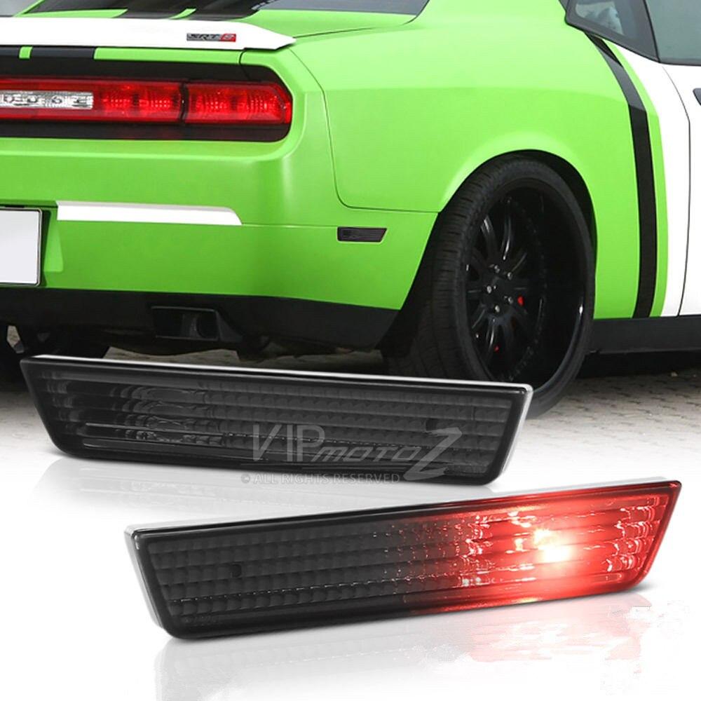 Голубой залив почвы для 2011-2014 Dodge зарядное устройство дым дым задний бампер боковые габаритные фонари лампы Ассамблеи
