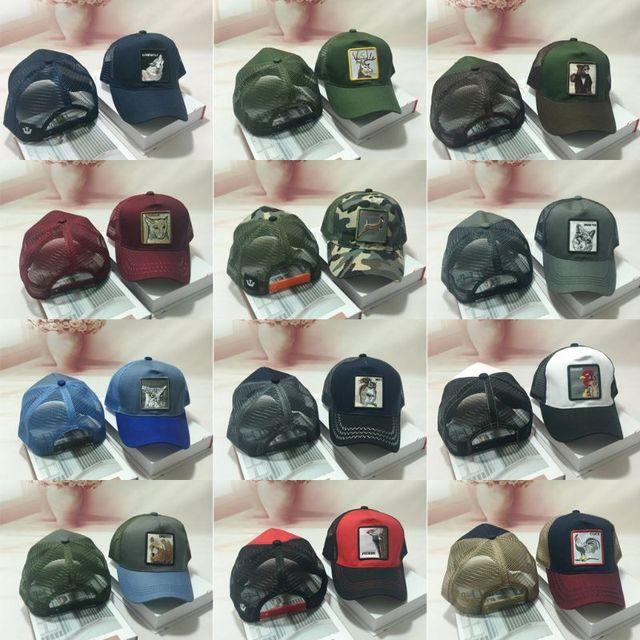 Unisex de moda Animal parche bordado de malla de algodón gorra de béisbol  sombrero de camionero 0e5065d69ab