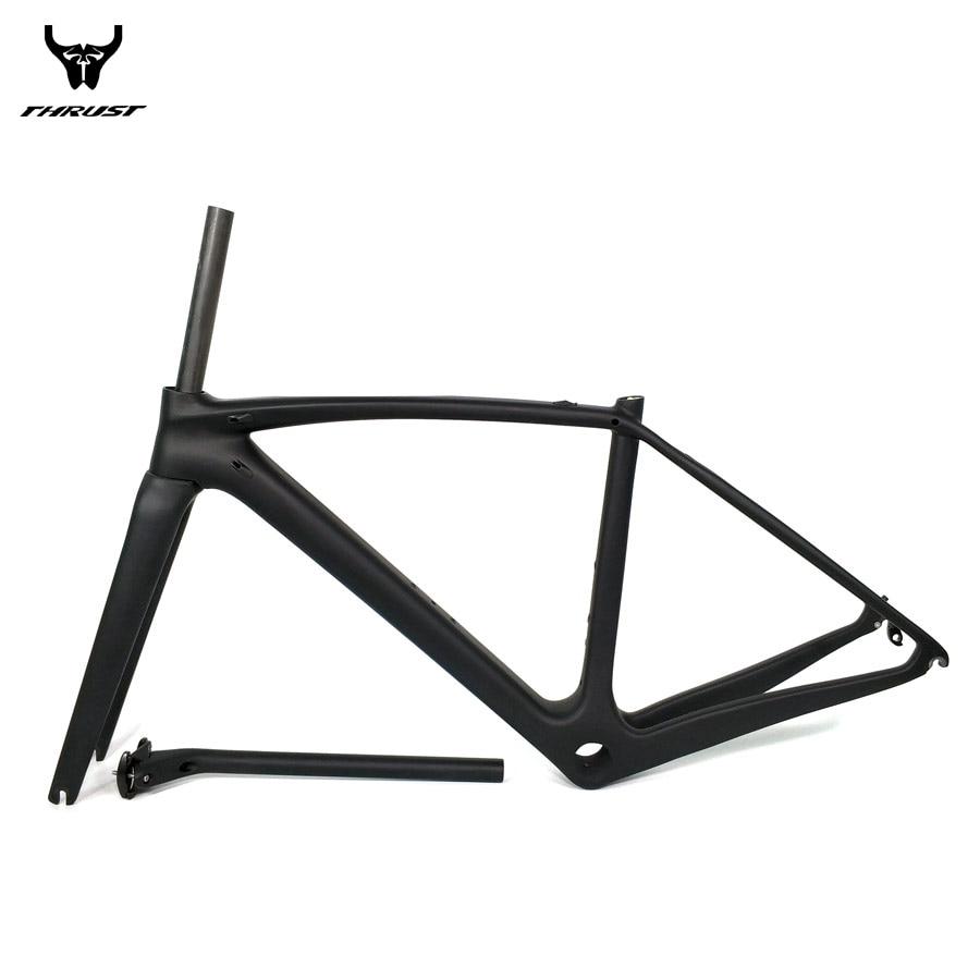 THRUST Road Bicycle Bike Carbon Frame XXS XS S M L Carbon Road Frame China BSA