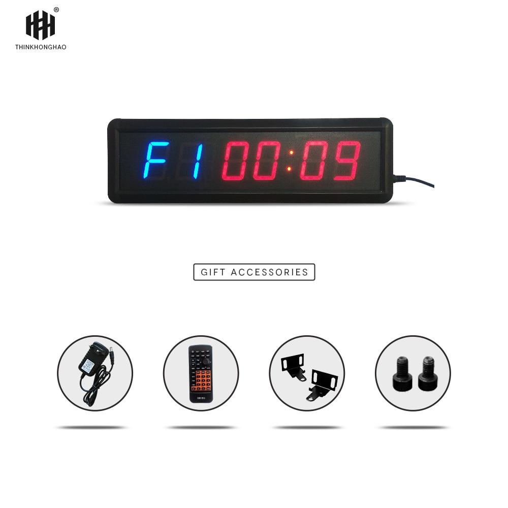 liela izmēra, funkcionāls, fitnesa taimera pulkstenis 1,8 collu - Mājas dekors - Foto 2