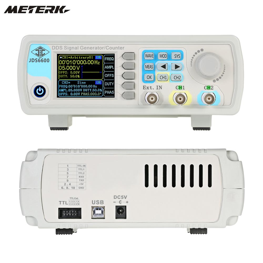 Digital Dual-channel DDS Function Signal Generator Arbitrary Waveform Pulse 1Hz-100MHz Frequency Meter 200MSa/s 15MHz жесткий диск seagate ironwolf st4000vn008 4тб hdd sata iii 3 5