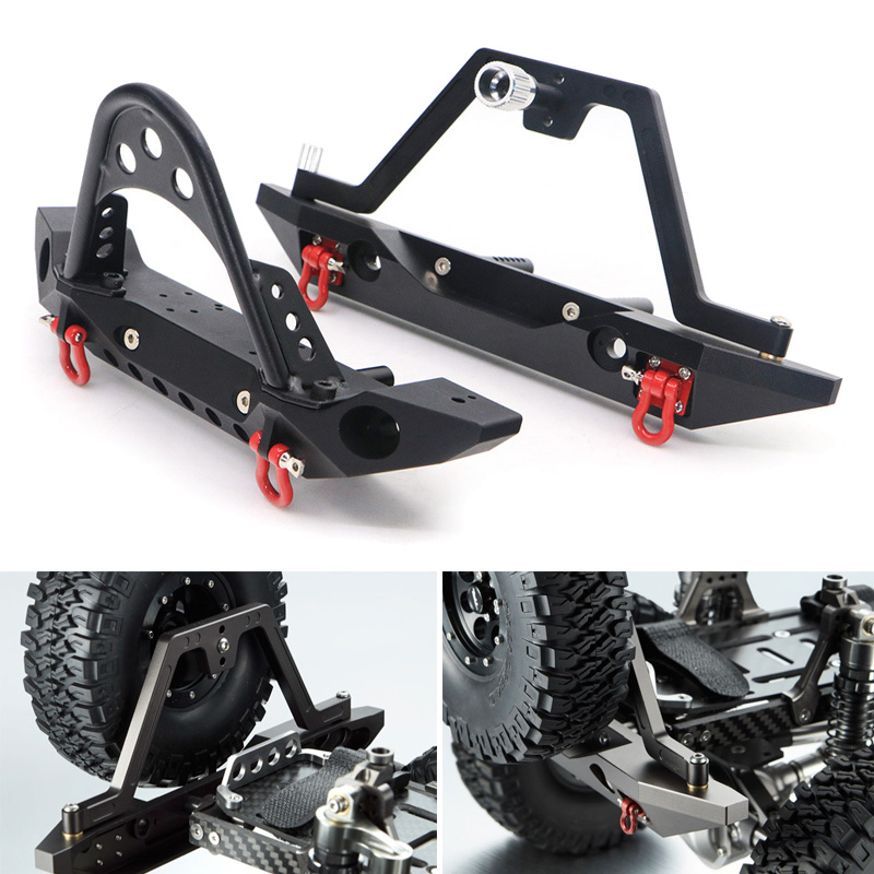 1Pair Front Rear Anti-collision Bumper for TRX4 SCX10 90046 1/10 Model Climbing Car YJS Dropship1Pair Front Rear Anti-collision Bumper for TRX4 SCX10 90046 1/10 Model Climbing Car YJS Dropship