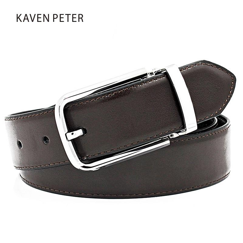 Famosas marcas para hombre cinturones de lujo Pin hebilla de cuero - Accesorios para la ropa - foto 2