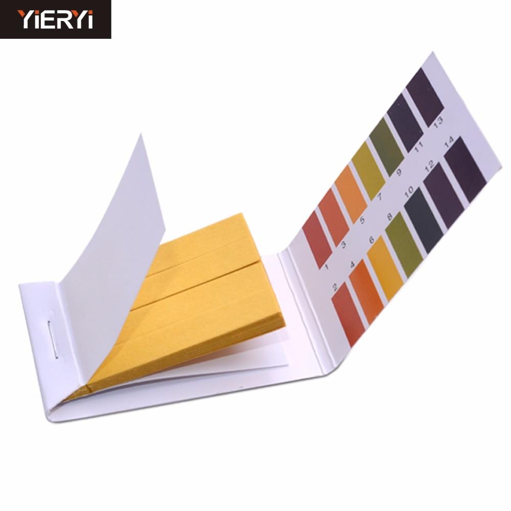 200 pcs PH Meter PH Test Strips Indicator Test Strips 1 14 Paper Litmus Tester Brand