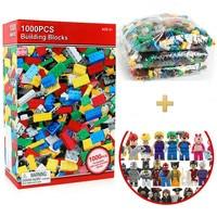 1000Pcs Building Blocks Sets Compatible LegoINGLY Minecrafted My World City DIY Creative Bricks Bulk Legoe toys for children