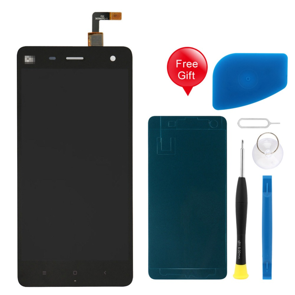 5.0 IPS Display For xiaomi Mi4 LCD Display LCD Touch Screen Digitizer for Xiaomi Mi 4 No Frame with Free Tape and Tools Set5.0 IPS Display For xiaomi Mi4 LCD Display LCD Touch Screen Digitizer for Xiaomi Mi 4 No Frame with Free Tape and Tools Set