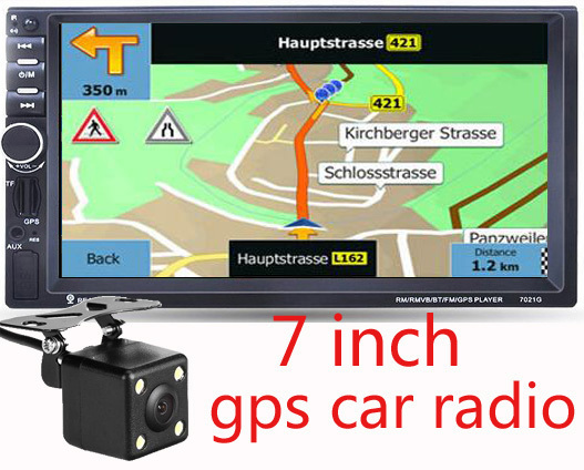 New  Inch Hd Car Gps Navigation Mhz Fmddr  Europe Maps For Russia