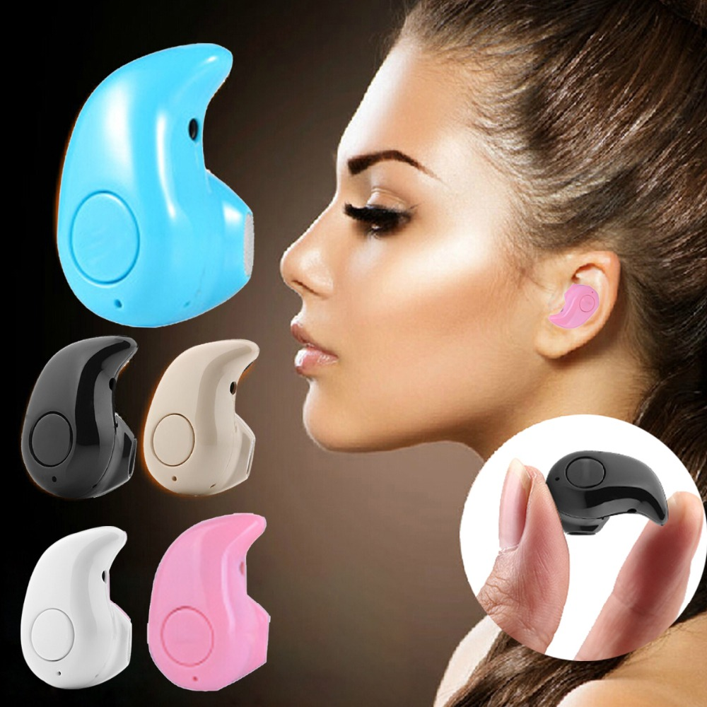 New Mini S530 Stealth Earphone Little Finger Size Wireless Bluetooth 4.0 Stereo Headset Handfree for All phone
