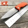 LDT Bear Mini F3 Folding Knife 30 EVO Blade G10 Handle Camping Tactical Knife Flipper Outdoor