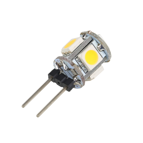 1pcs G4 Warm White 5 font b LED b font Diodes 5050 SMD Light Cabinet for