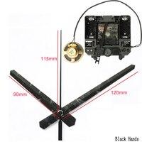 R Silent Movement with Music Chime Box Plastic Quartz mechanism with 3# hands Pendulum drive units DIY Clock Accessory Kits