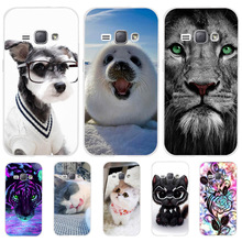 For Samsung Galaxy J1 2016 J120 J120F Case Cover Silicone For Samsung J1 2016 Case Cat Dog Funda For Samsung J1 2016 Phone Cases стоимость