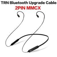TRN BT3 2Pin 0 75MM 0 78MM MMCX Wireless Bluetooth 4 1 Cable HIFI Earphone 2PIN