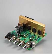 100W + 100W 2.0เครื่องขยายเสียงHIFIสเตอริโอAmplification Digital ReverbไมโครโฟนAmplifier