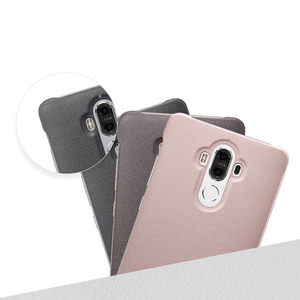 Image 2 - Huawei Original Smart Phone Case View Cover Flip Case For Huawei Mate9 Mate 9 Housing Sleep Function intelligent Phone Case